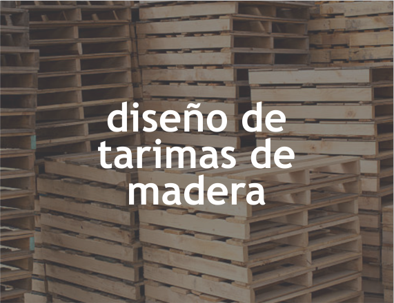 Diseño de tarimas de madera